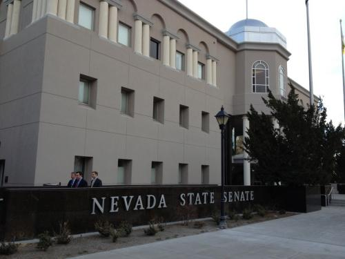 Fewer Bills Becoming Nevada Law