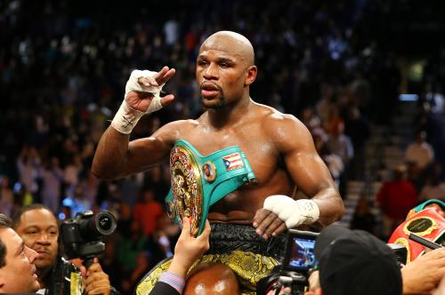 Mayweather To Fight Canelo Alvarez