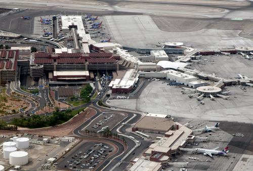 McCarran Traffic Up In December