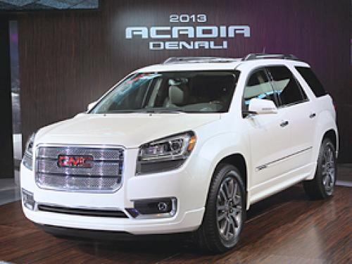 Road Test: 2013 GMC Acadia Denali