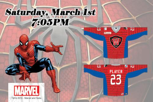 Wranglers Don Superhero Gear Saturday